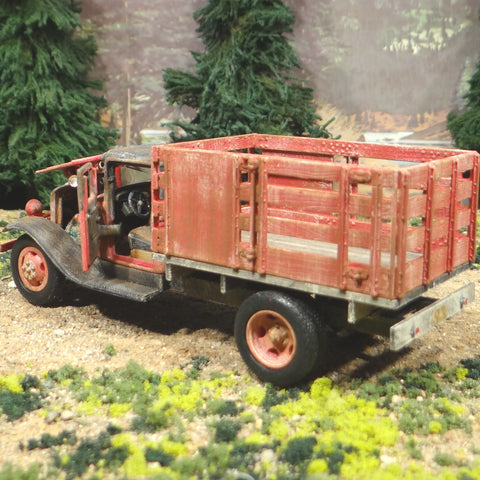 1934 Ford Farm Stake Truck - O Scale On30 - 1/43 Diecast