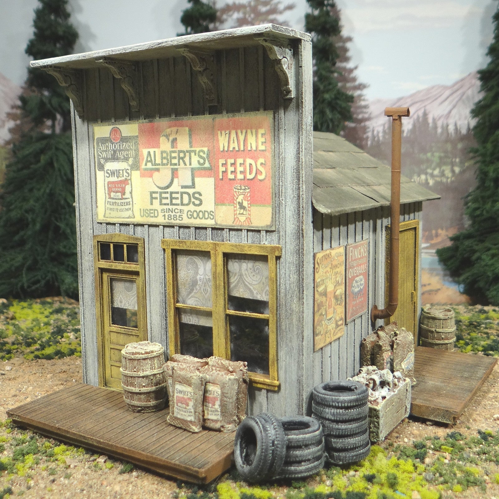 O Scale On30 On3 - Albert's Feed Seed & Used Goods Store