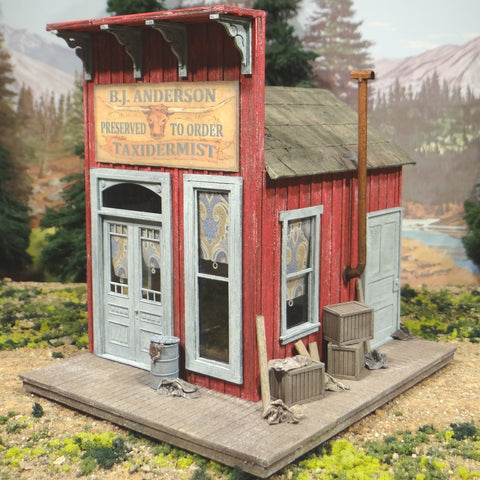 O Scale On30 On3 B.J. Anderson Taxidermist