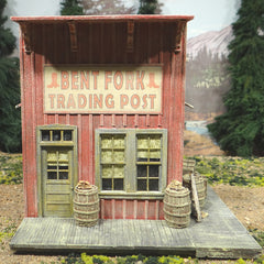O Scale On30 On3 Western Town Trading Post