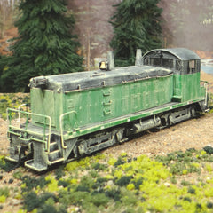HO Broadway Limited BLI SW7 ex-BN DCC & QSI SOUND Weathered