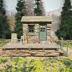 On30 On3 Copper Creek Depot O Scale