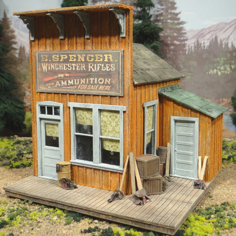 O Scale On30 On3 E. Spencer Winchester Rifles