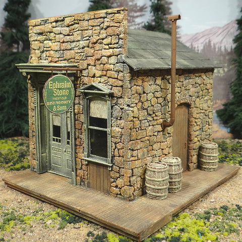 O Scale On30 On3 - Ephraim Stone & Sons Irish Whiskey