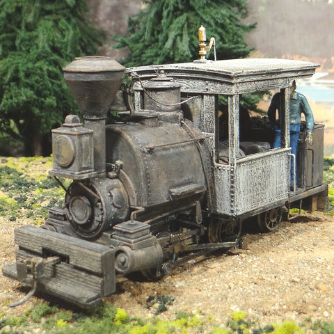 On30 Scale 0-4-2 Porter Tsunami DCC Sound TCS Keep Alive Coal Burner - Runs S-L-O-W Perfect!