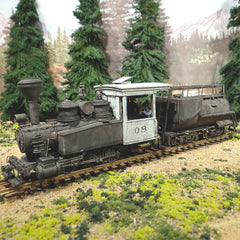 Ultimate On30 Scale 0-6-0 Porter #08 Vandy Oil Tender - Runs S-L-O-W PERFECT!