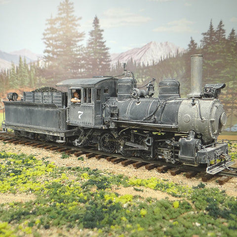 On SALE Now $70 Off - Ultimate On30 0-8-0 Locomotive #7 DCC TCS Wow Sound KA4