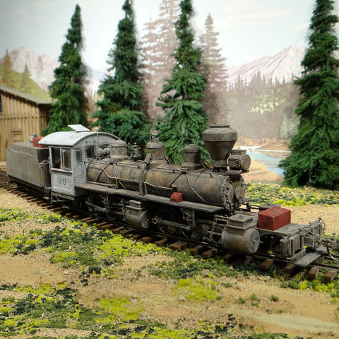 On30 2-6-6-2 Locomotive #39 TCS Wow Sound Version 4 with Keep Alive