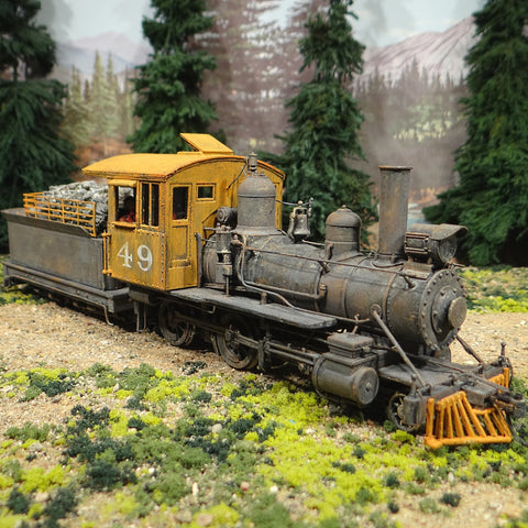 On30 Scale 4-4-0 American #49 DCC Tsunami Sound Current Keeper