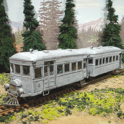 On30 Bachmann Rail Bus & Trailer #4 DCC Soundtraxx Tsunami Sound TCS KA4