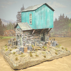 O Scale Rio Verde Section House Diorama On30 On3