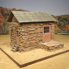 On30 On3 Saugatuck Stone Freight Shed O Scale