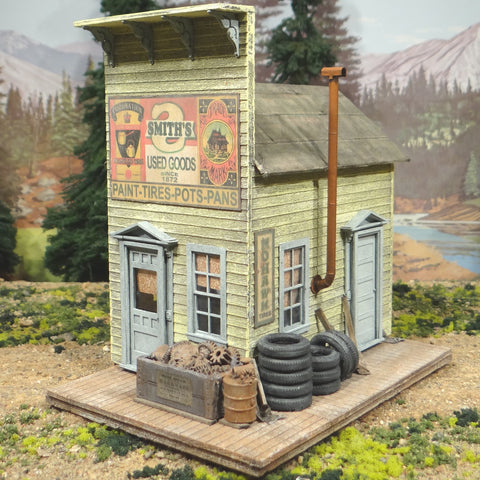 O Scale On30 On3 Smith's Used Goods Store