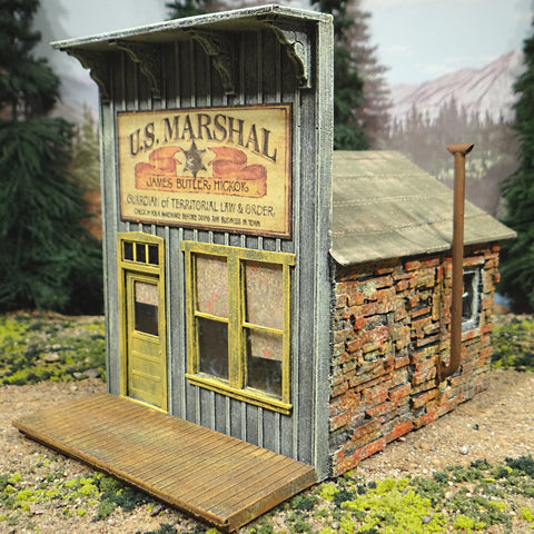 O Scale On30 On3 - U.S. Marshall's Sheriff's Office