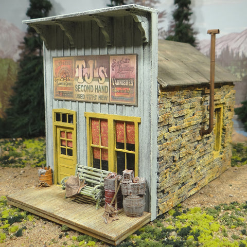 O Scale On30 On3 - TJ's Second Hand Store Building