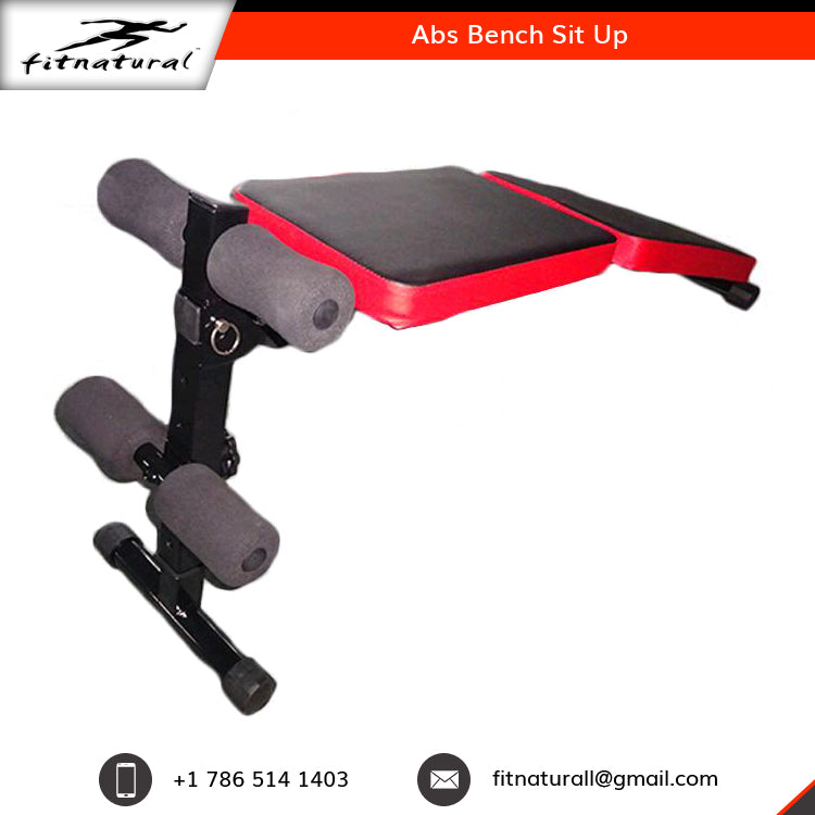 Athletic Abs Bench Sit Up Workout Equipment