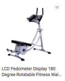 Fitness Waist Exercise Machine