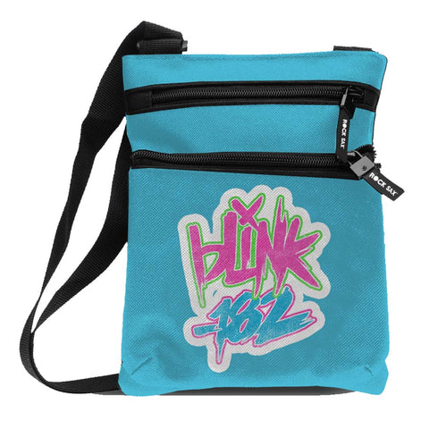 Blink 182 Logo Blue Body Bag