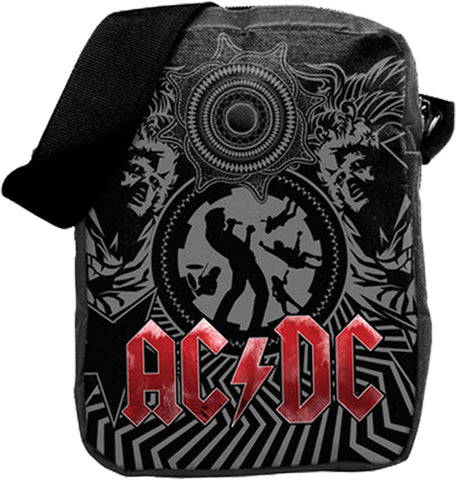 AC-DC Black Ice Crossbody Bag