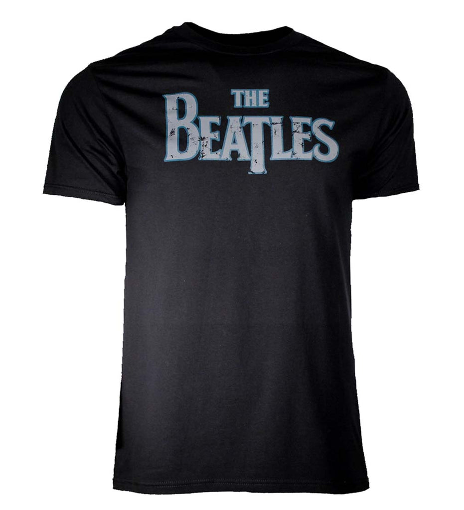 Beatles Distressed Vintage Logo T-Shirt