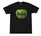 Beatles Apple Logo Black T-Shirt