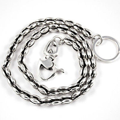 WALLET CHAIN STERLING SILVER 925 BLOOM LINK