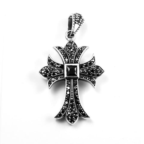 CROSS PENDANT STERLING SILVER 925 - REVERSIBLE