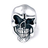 SURREALISTIC SKULL RING STERLING SILVER 925