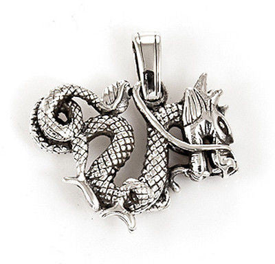 DRAGON STERLING SILVER 925 PENDANT