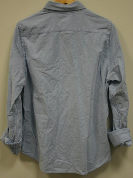 Classic Fit Solid Oxford Shirt Size Large Hollister, Fantastic Condition!