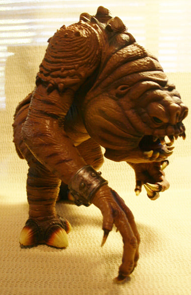 Vintage Large Rancor Star Wars Toy Almost 12 Inches Rare Fantastic Condition! Very Minor Wear. From Return of the Jedi! 1990s Power of the Force Line!
