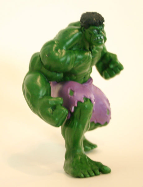 4.5 Inch Highly Detailed Incredible Hulk Action Figure Disney Brand Marvel Super Hero Special Issue!