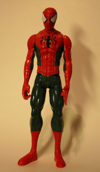 11.5 Inch Marvel's Spider Man, Dated 2013 Hasbro Gray Suit!