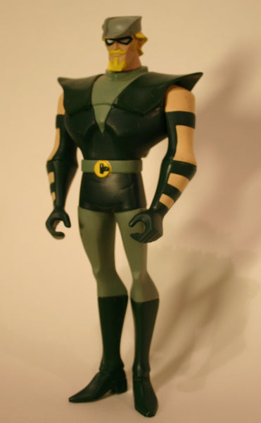DC Comics 10 Inch Green Arrow Action Figure From Animated Series, As Is.