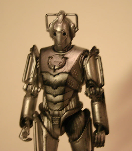 6 Inch Doctor Who Cyberman Loose Figure BBC 1963/2003 Licensed By The BBC Worldwide Limited. Fantastic Detail.