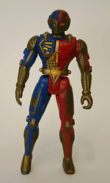 1995 SABAN VR TROOPERS MEGA-TECH DELUXE RYAN STEELE ACTION FIGURE KENNER 5.5 Inch