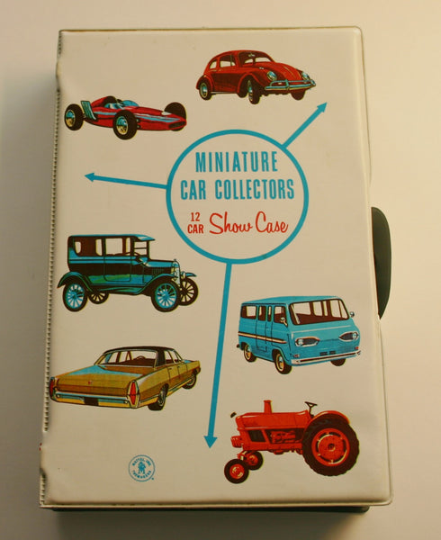 Mattel Dated 1966 Hot Wheel Carrying or Display Case Holds 12 Cars, Great Condition No Writing on Case 9.5 Condition.