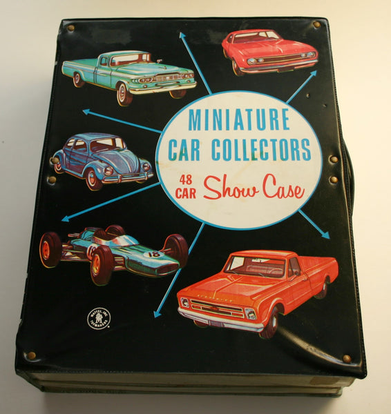 Mattel Dated 1966 Hot Wheel Carrying or Display Case Holds 48 Cars, Good Condition No Writing on Case