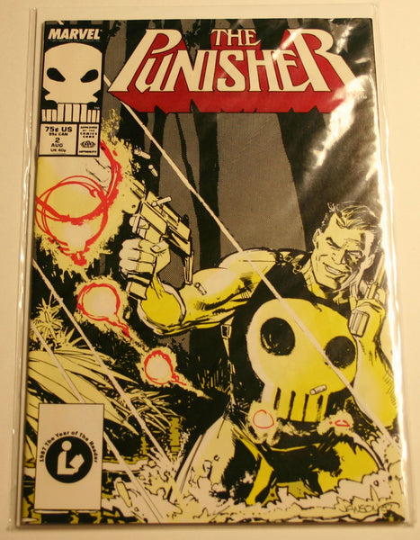 Marvels The Punisher #2 August 1987 Perfect Copy Bagged and Boarded Ready To Ship Fast!