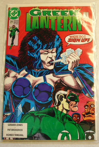 DC Comics Green Lantern Issue # 20 January 1992, Mid Grade Bagged & Boarded Ready For Certification.