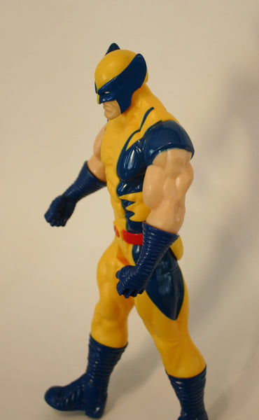 Marvels Wolverine (Old School) Hasbro Dated 2013, 11 Inch As Is Loose Figure, Great Condition, Ready To Ship Fast!