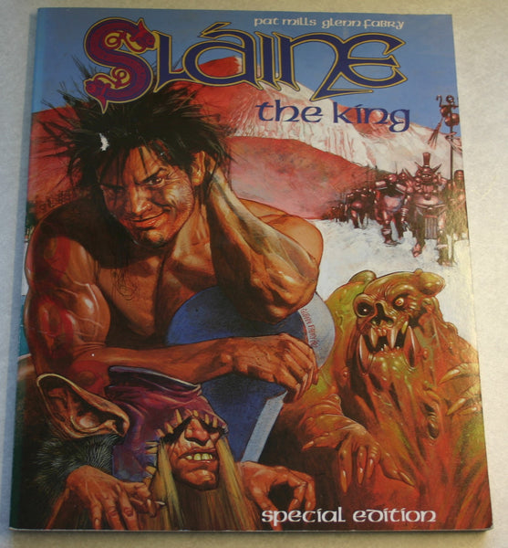 First Special Edition October 1990 Graphic Novel, Slaine The King by Pat Mills and Simon Bisley Rare, Fantastic Artwork Great Condition.
