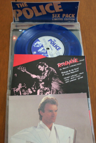 cir 1980 The Police Rare Limited Edition 6 Pack Record Release Mint Condition Never Opened
