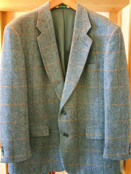 Vintage Size 44 (XL) 100% Pure Wool Sports Jacket Fantastic Vintage Condition A Must See!!