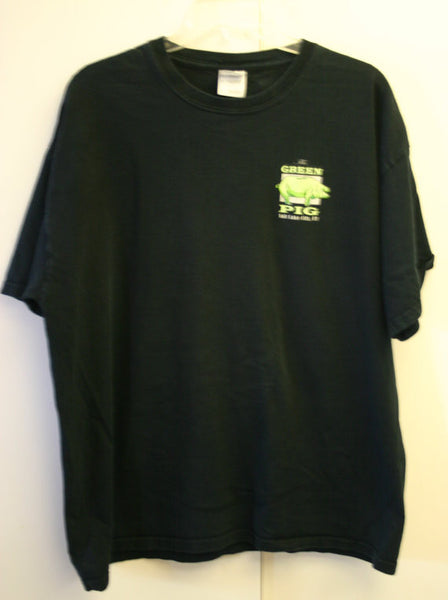 Size XL 100% Pre-Shrunk Cotton The Green Pig Salt Lake City Utah, Location Vacation Travel Tee Hipster Hangout Vacation Road Trip Tee!!