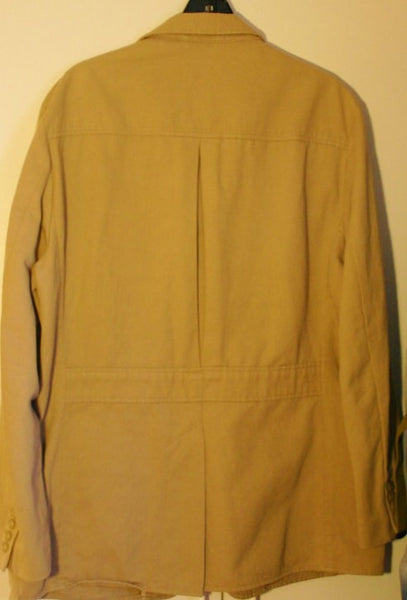 Size Large Polo Ralph Lauren 83 pct Cotton 17 pct Hemp Three Pocket Fantastic Casual Jacket Perfect Condition