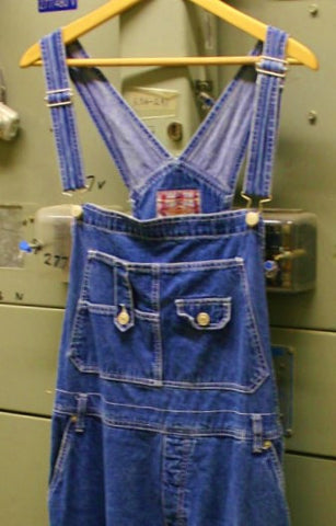 Coveralls Overalls Revolt Brand Fantastic Condition Great Denim With All Working Buckles and Snaps Farmer Hipster Boho Hippy Coffee House!