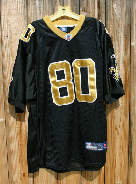 Size 54 NFL Number 80 New Orleans Saints Reebok Jersey Jimmy Graham Tight End 2010-2014 Now Seahawks Great Condition Ready To Go Fast
