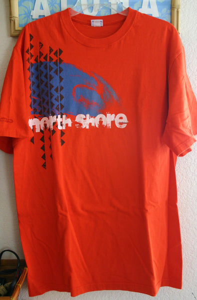 "Great Vintage Size Large ""Crazy Shirt"" North Shore Oahu Fantastic Graphics Location Vacation Tee Shirt Hipster Surfer Retro Cool!"