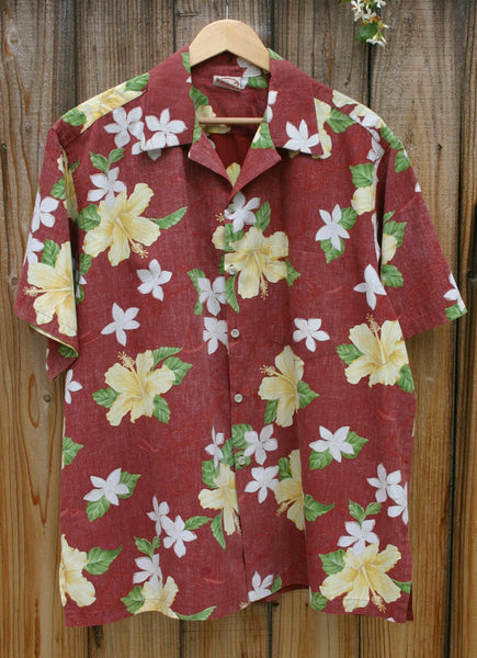 Fantastic Size XL Vintage Go Barefoot Hawaii Aloha Shirt, One Small Repair Almost Invisible In Pic 3, High Quality Well Made Insideout Look!